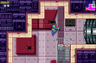 Metroid Fusion GBA 22