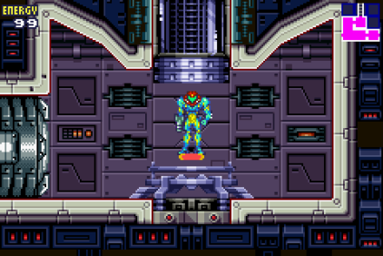 Metroid Fusion GBA 23