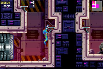Metroid Fusion GBA 31