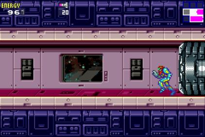 Metroid Fusion GBA 42