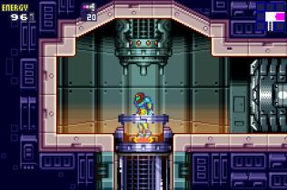 Metroid Fusion GBA 43