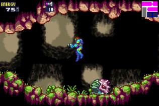 Metroid Fusion GBA 54