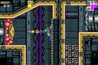 Metroid Fusion GBA 64