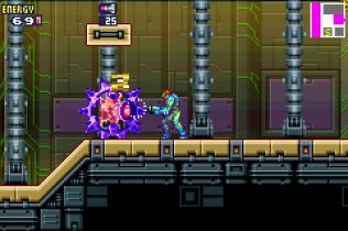 Metroid Fusion GBA 66