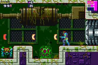 Metroid Fusion GBA 77