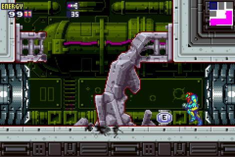 Metroid Fusion GBA 92