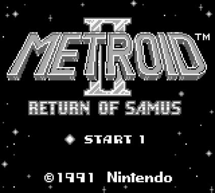 Metroid II - Return of Samus Game Boy 01