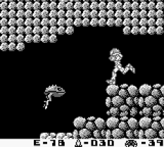 Metroid II - Return of Samus Game Boy 10