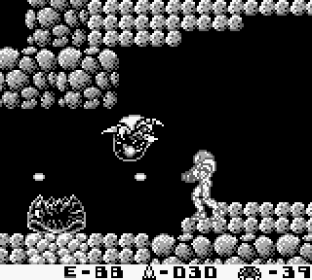 Metroid II - Return of Samus Game Boy 12