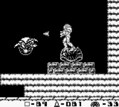 Metroid II - Return of Samus Game Boy 65