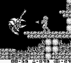 Metroid II - Return of Samus Game Boy 87