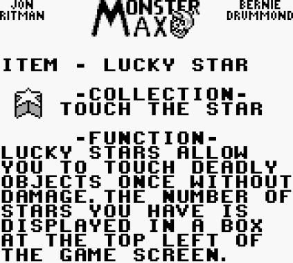 Monster Max Game Boy 09