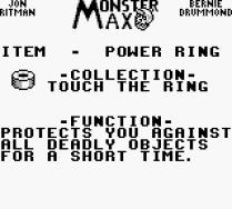 Monster Max Game Boy 38
