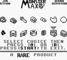 Monster Max Game Boy 44