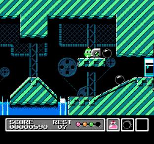 Mr Gimmick NES 09