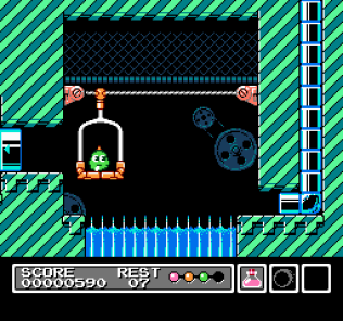 Mr Gimmick NES 11