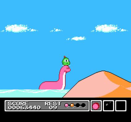 Mr Gimmick NES 64