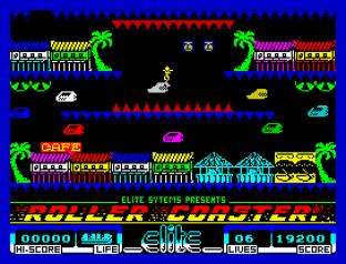Roller Coaster ZX Spectrum 42
