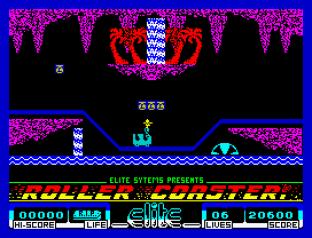 Roller Coaster ZX Spectrum 45