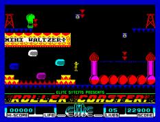 Roller Coaster ZX Spectrum 48