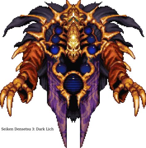 Seiken Densetsu 3 Bosses 20 - Dark Lich
