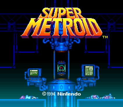Super Metroid SNES 01