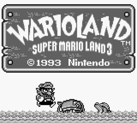 Wario Land - Super Mario Land 3 Game Boy 01