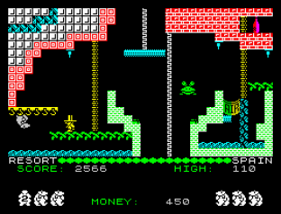 Auf Wiedersehen Monty ZX Spectrum 09