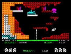Auf Wiedersehen Monty ZX Spectrum 10
