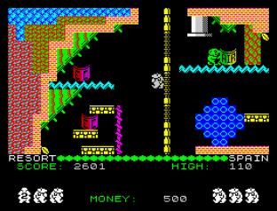 Auf Wiedersehen Monty ZX Spectrum 12
