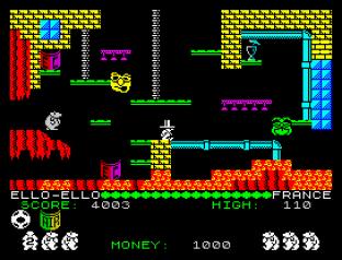 Auf Wiedersehen Monty ZX Spectrum 20
