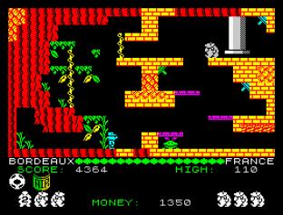 Auf Wiedersehen Monty ZX Spectrum 23
