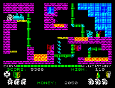 Auf Wiedersehen Monty ZX Spectrum 33