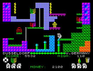 Auf Wiedersehen Monty ZX Spectrum 34