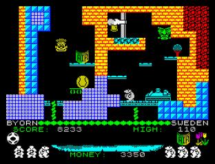 Auf Wiedersehen Monty ZX Spectrum 45