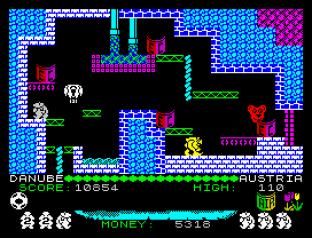 Auf Wiedersehen Monty ZX Spectrum 53