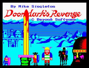 Doomdark's Revenge ZX Spectrum 01