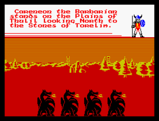 Doomdark's Revenge ZX Spectrum 20