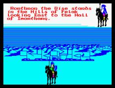 Doomdark's Revenge ZX Spectrum 21