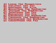 Doomdark's Revenge ZX Spectrum 22