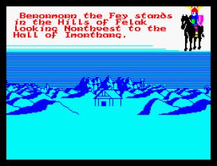 Doomdark's Revenge ZX Spectrum 34