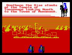 Doomdark's Revenge ZX Spectrum 54