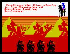 Doomdark's Revenge ZX Spectrum 66