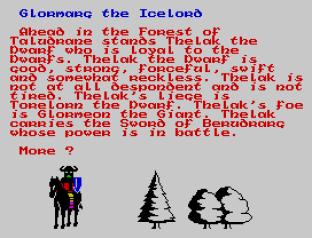 Doomdark's Revenge ZX Spectrum 78