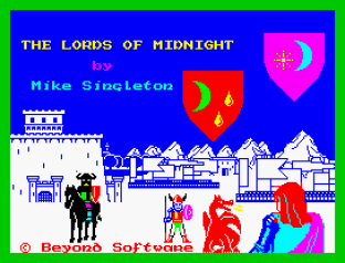 Lords of Midnight ZX Spectrum 01