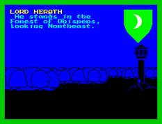 Lords of Midnight ZX Spectrum 10
