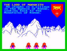 Lords of Midnight ZX Spectrum 11