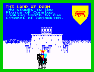 Lords of Midnight ZX Spectrum 12
