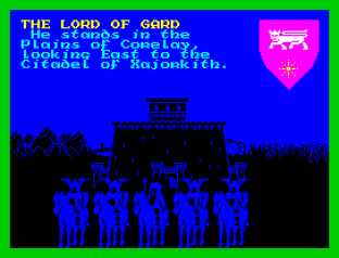 Lords of Midnight ZX Spectrum 23