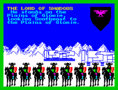 Lords of Midnight ZX Spectrum 32